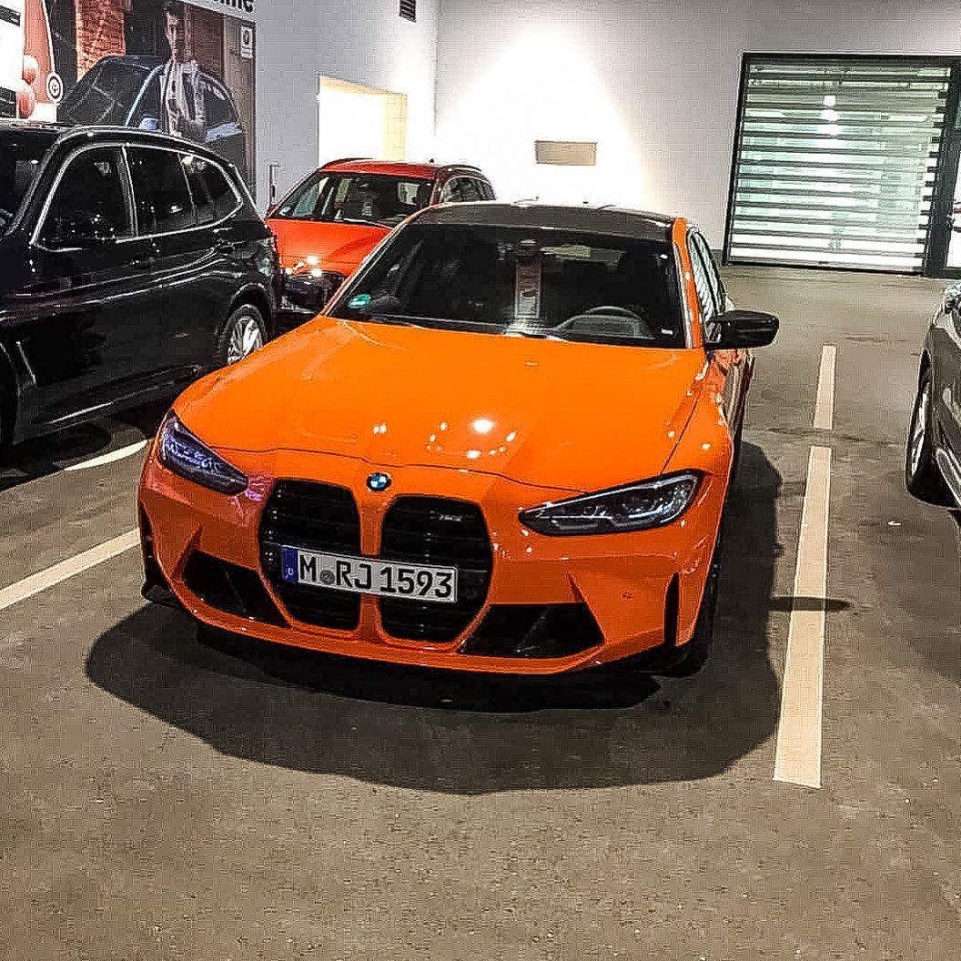 Name:  Fire Orange G80 M3.jpg Views: 12740 Size:  264.4 KB